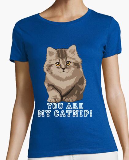 Tee-shirt vous êtes mon cataire! shirt de fille.