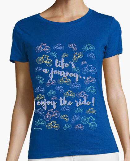 Tee-shirt voyage life'sa ... profiter de la balade!