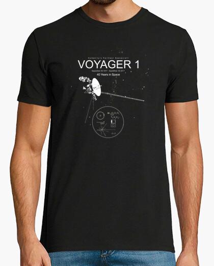 Camiseta voyager 1 -el espacio más lejano de la humanidad