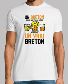 Vrai Breton boit Apero humour alcool
