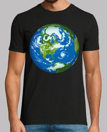 vue de l39espace la planète terre