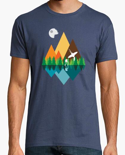 Tee-shirt Vue sur la forêt