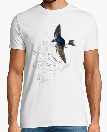 Camiseta Vuela blanca chico