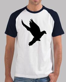 vuelo de la paloma
