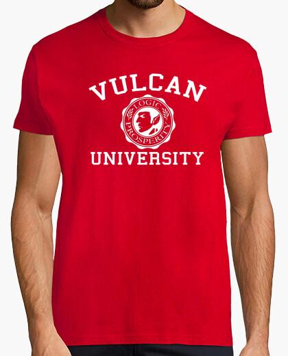 Tee-shirt Vulcan U white