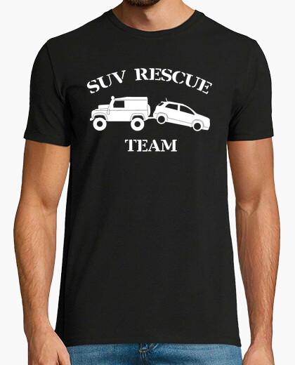 Tee-shirt vus sauvetage équipe blanche