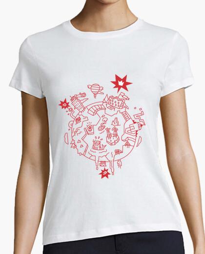 Tee-shirt wacky mondiale