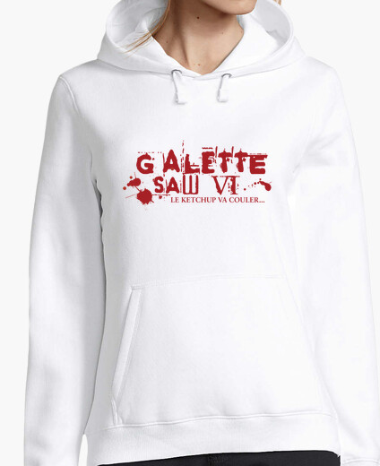 Wafer saw vi - sweatshirt woman hoody