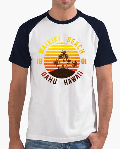 Tee-shirt Waikiki Beach