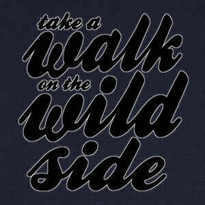 Tee-shirts Walk on the Wild Side black