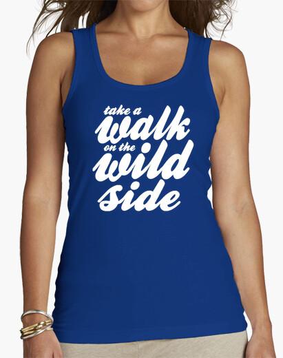 Camiseta Walk on the Wild Side white
