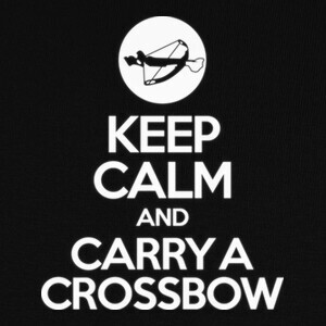 Camisetas Walking Dead - Keep calm crossbow