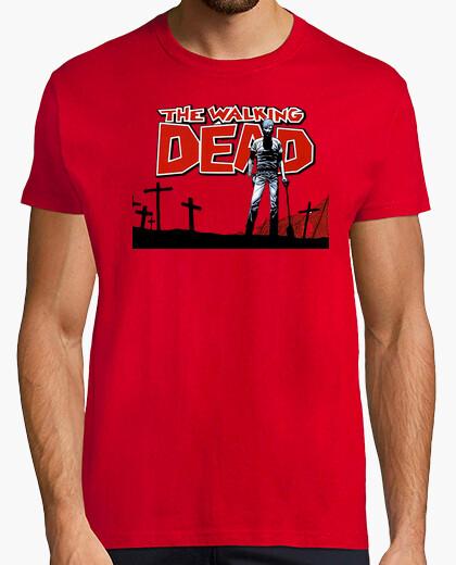 Camiseta walking dead friki zombies cine series tv