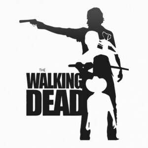 Camisetas Walking Dead shadows