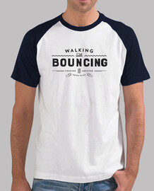 Walking with bouncing forever - Black