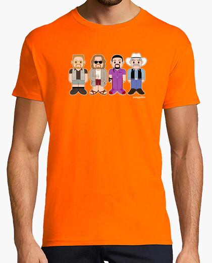 Camiseta Walter, El Nota, Quintana y el extraño