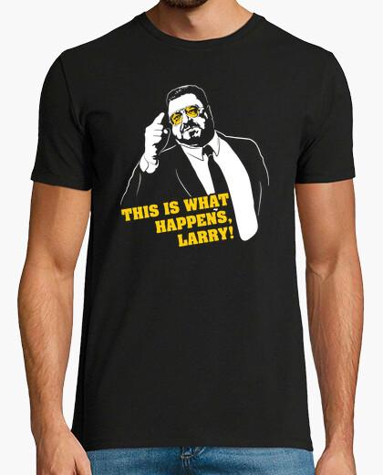 T-shirt Walter Sobchak - This Is What Happens, Larry! (Il Grande Lebowski)