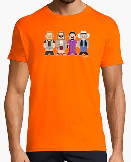 Walter, the dude, quintana & the strange t-shirt