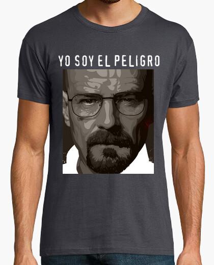 Camiseta Walter White yo soy el peligro