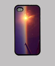 Wanderer sunset iPhone 4