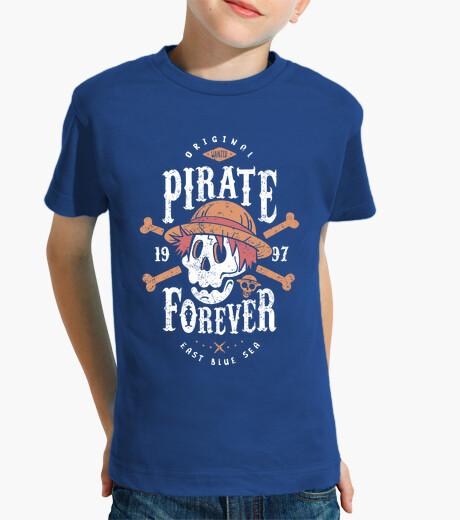 Abbigliamento bambino wanted pirata forever