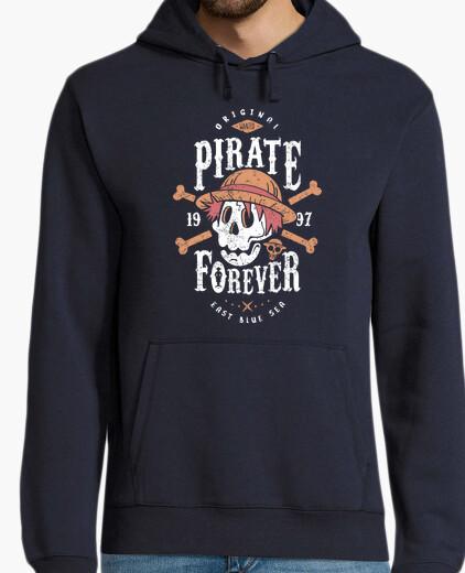 Felpa wanted pirata forever