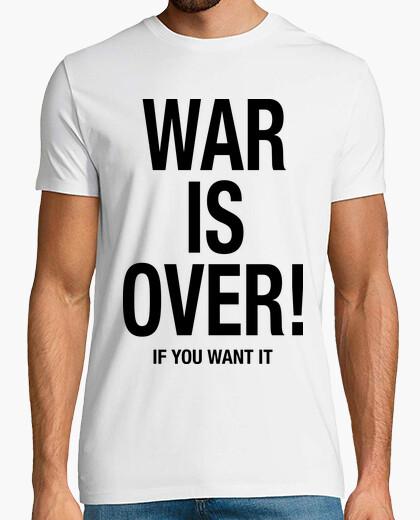 Camiseta War is Over