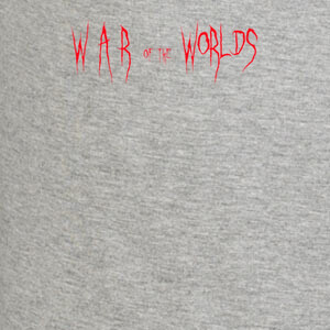 Camisetas War of the Worlds título