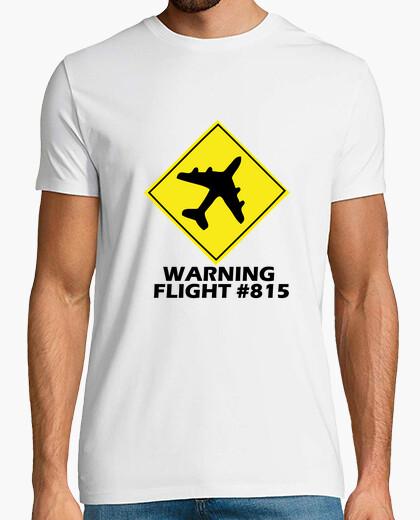 Camiseta Warning Flight #815