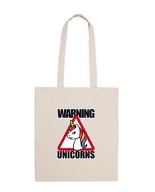 Warning unicorns, cuidado unicornios
