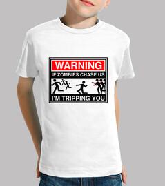 Warning Zombies niños