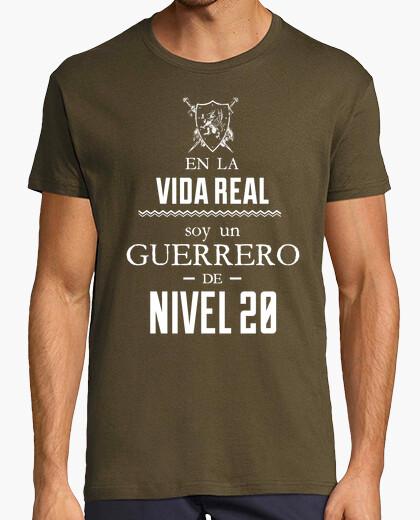Warrior level 20 t-shirt