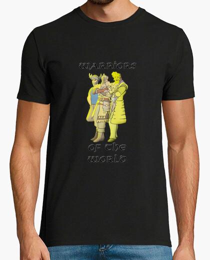 Camiseta Warriors of the world