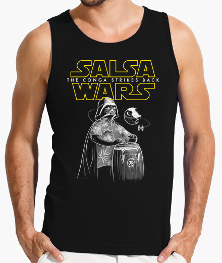 Wars sauce the conga strikes back t-shirt