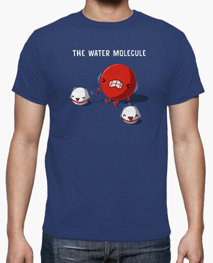 Water molecule t-shirt