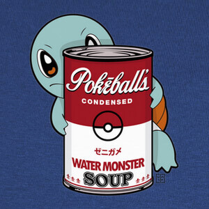 Camisetas water monster soup