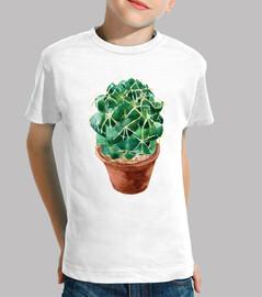 Watercolor cactus 1