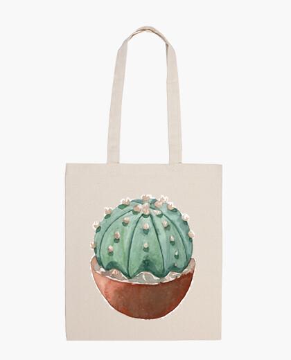 Bolsa Watercolor cactus 2