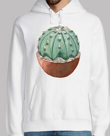 Watercolor cactus 2