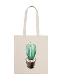 Watercolor cactus 4