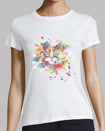 Watercolor cat ii