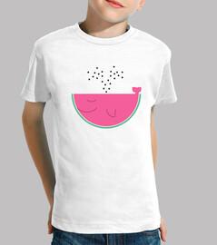 Watermelon manga corta niño