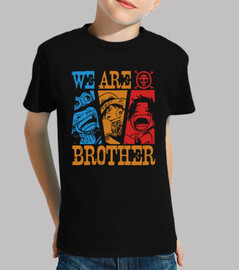 we are brothers - one piece anime