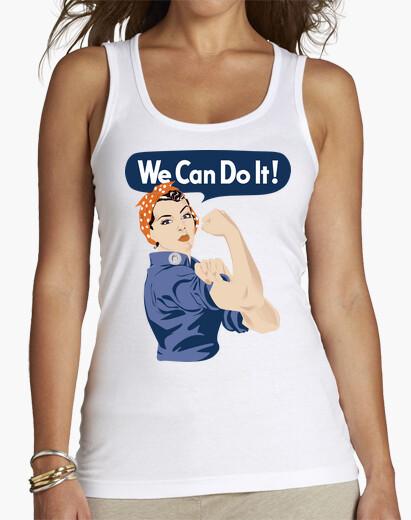 31e9ced6f4c Camiseta We Can Do It! (¡Podemos Hacerlo!) - nº 1769501 - Camisetas ...