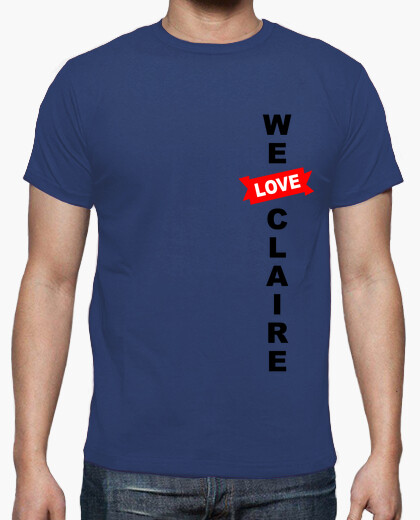 Camiseta We Love Claire