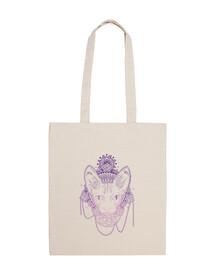 weathered cat bag