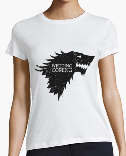 Camiseta Wedding is coming