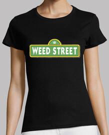 Weed Street - Camiseta mujer