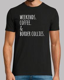 weekends coffee border collie