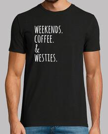 Weekends Coffee Westie